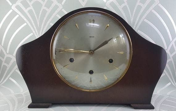 Smiths Westminster Carillon Pendule Art Deco Horloges Anglais Etsy