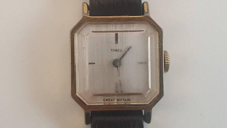 26051720e Chunky Timex Watch Vintage Timex Ladies Wrist Watch | Etsy