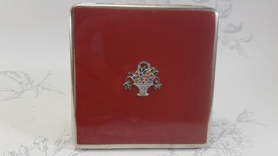 Vintage Dubarry powder compact, rare Dubarry compa