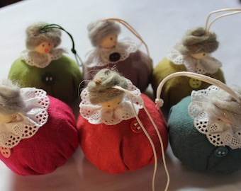 Scented with Lavender linen doll
