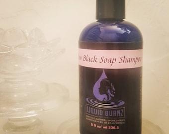 Raw Black Soap Moisturizing Shampoo