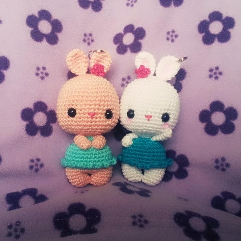 Tiny Bunny Amigurumi - Free Crochet Pattern • Green Fox Farms Designs | 794x794