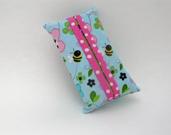 Fabric Travel Tissue Holder