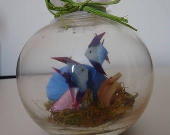 Origami fish Aquarium