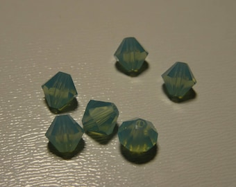 Bicone 6 mm x 20 Pacific Opal