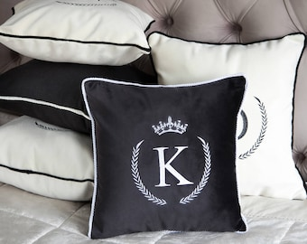 Housewarming gift | Personalized Cushion | Monogram Pillow | Home decor pillow | Initial Cushions | Personalized Pillow | Decorative Pillow