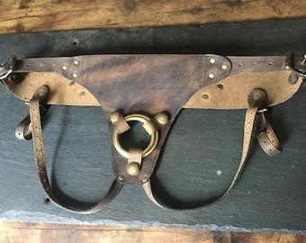 Ruffian Strap On Harness - Distressed