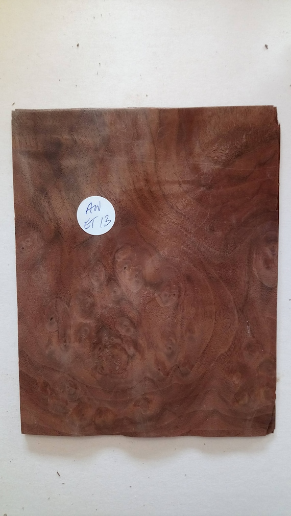 CONSECUTIVE SHEETS OF INDIAN MAHOGANY VENEER 18 X 31 cm IM#1 MARQUETRY