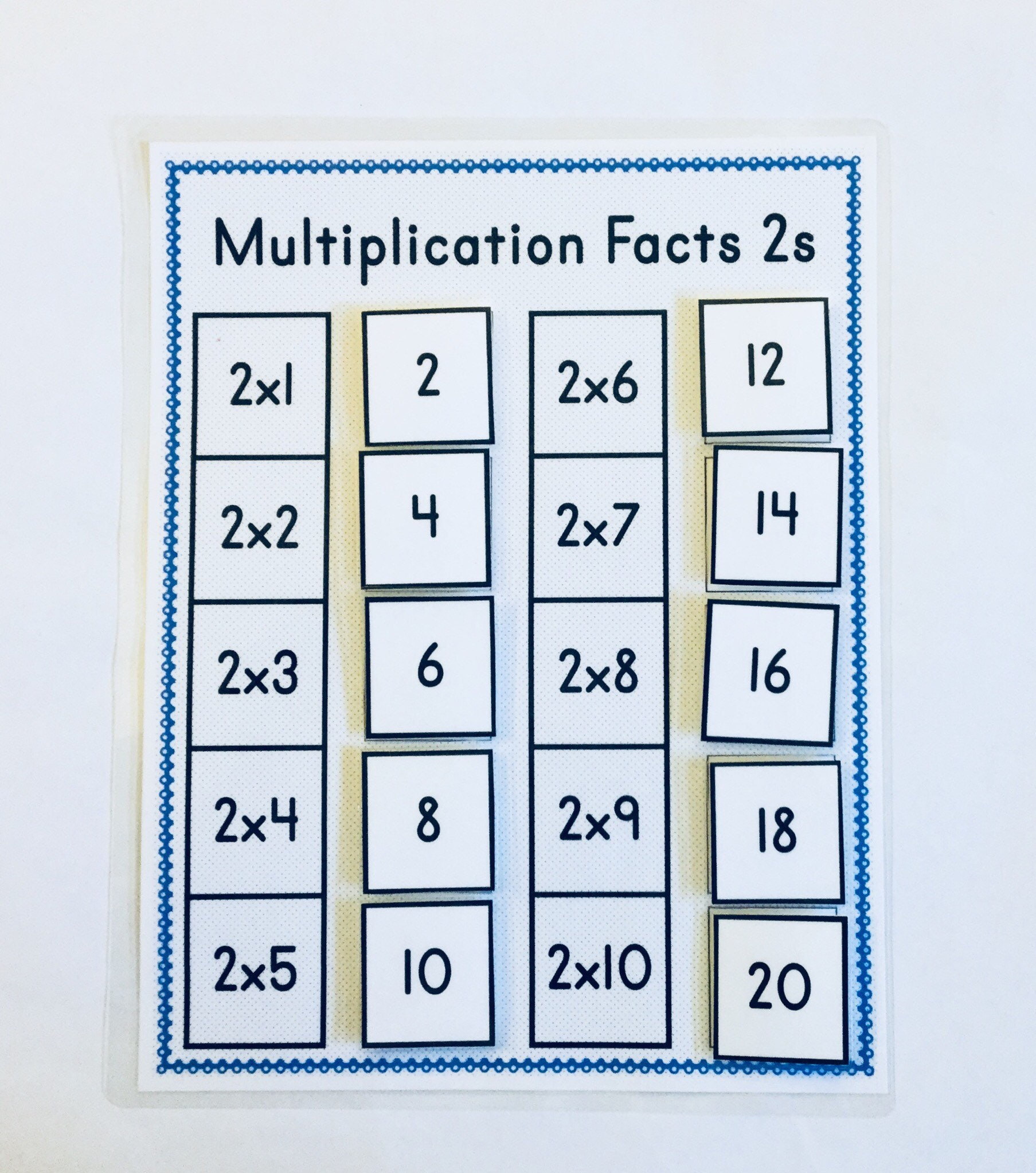 Back to School KIds/Multiplication Game Multiplication Game | Etsy