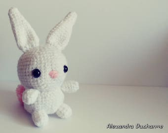 Little bunny plushie