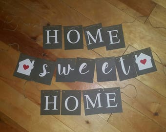 quick view home sweet home banner