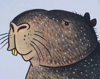 Capybara Print
