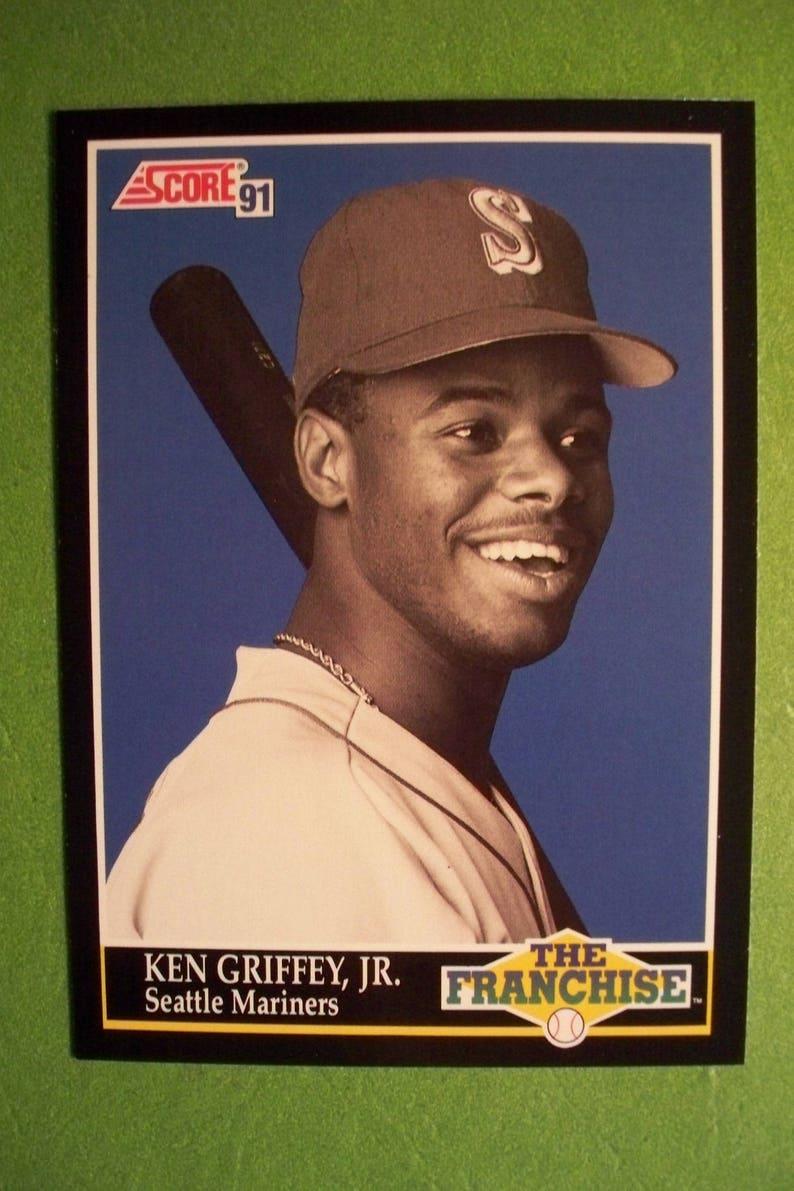 a5217a214b 1991 Score The Franchise Ken Griffey JrHOF Card 858 | Etsy