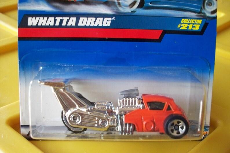 Very Cool BMW ISETTA Dragster 99 2000 Hot Wheels #213 ** Whatta Drag ** Orange New Batch!