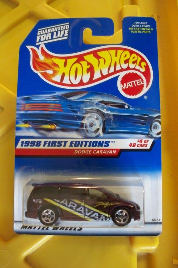 No 633 Brand New Hot Wheels1998 First Editions Dodge Caravan
