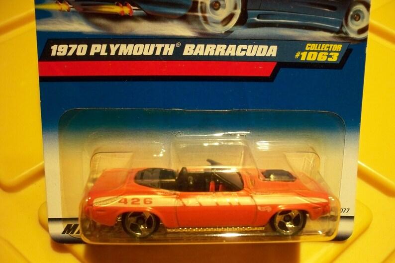 1970 Plymouth Barracuda #1063** Orange Convertible**1999 Hot Wheels**Grab  it Quick***It Won't Last!!