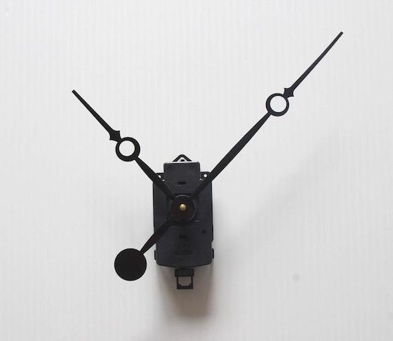 mouvement horloge quartz grandes aiguilles droites extra-longues XXL 20//30cm
