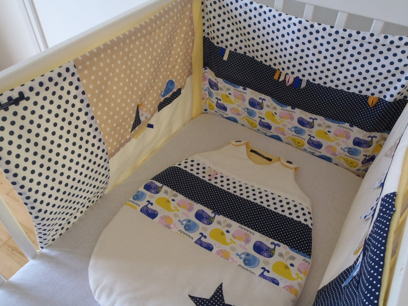 starfish sensory activities Navy round mixed white boat theme bed of 60 cm or 70 cm wide blue baby cot whale