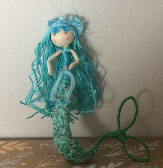 Mermaid Collectable Bendy Art Doll