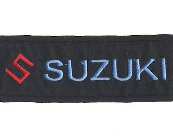 Suzuki logo patch badge