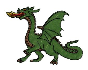 Green Dragon thermostick crest