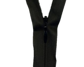 50 cm C732 black Invisible zipper