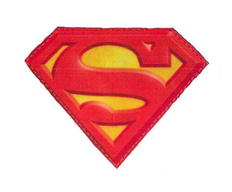Superman badge logo patch image 0