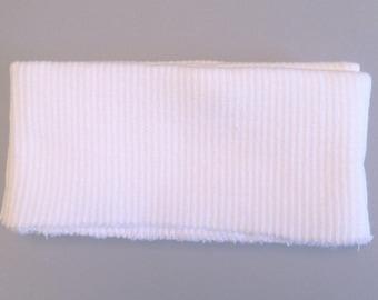 Belt edge side white jersey