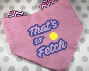 Gretchen- Thats So Fetch Adjustable Dog Bandana