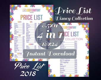 image relating to Lularoe Price List Printable named Lularoe expense checklist Etsy