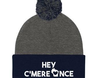 753c52294a8 Hey C mere Once Wisconsin Winter Hat Beanie