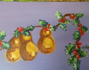 Christmas's Golden Pears