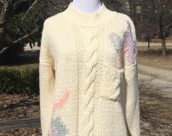 3cc022081 80s graphic sweater
