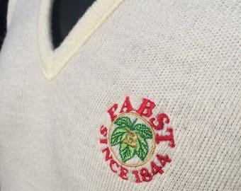 Pabst Blue Ribbon Sweater Etsy