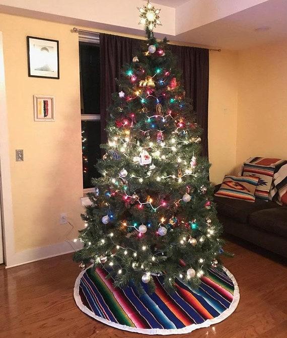 Sarape Christmas Tree skirt - Sarape Christmas Tree Skirt Etsy