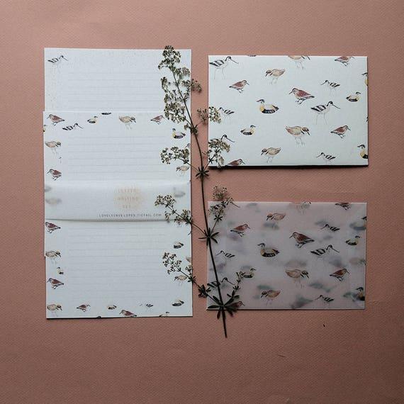 Letter Writing Set When the Birds Align