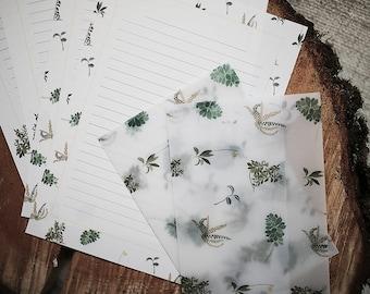 Letter Writing Set - In my Garden