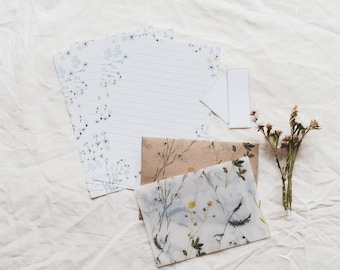 Letter Writing Set - Wildflowers