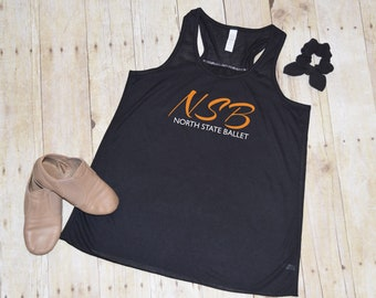 zippered NSB TODDLER and YOUTH unisex fleece vest North State Ballet
