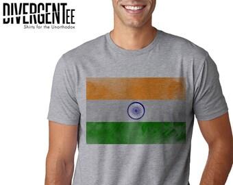 061820ea5a India Flag / India / India Flag Shirt / Indian Flag Shirt / Indian Flag / India  Shirt / India Gift / India Distressed Flag