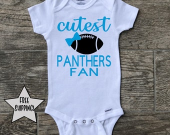 ed7a81477 Carolina Panthers onesie, NFL onesie