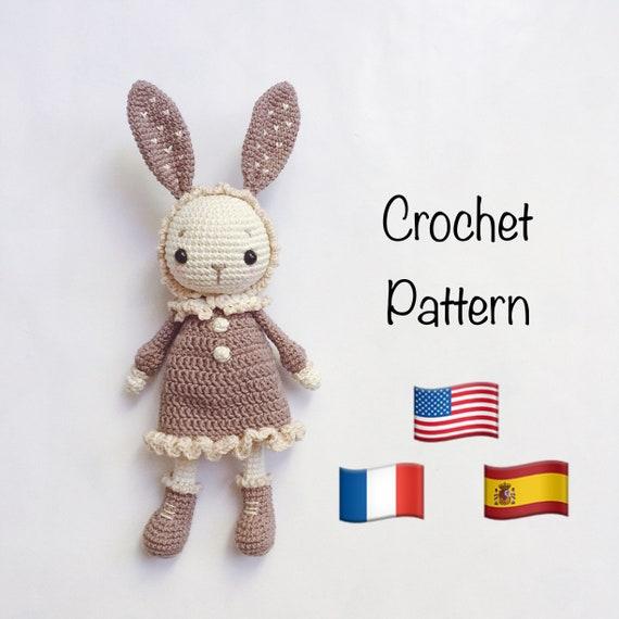 Modèle au crochet Mimi the little bunny, crochet lapin, crochet ...