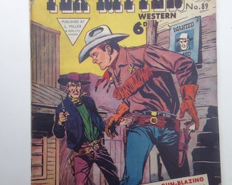Tex Ritter western issue 89
