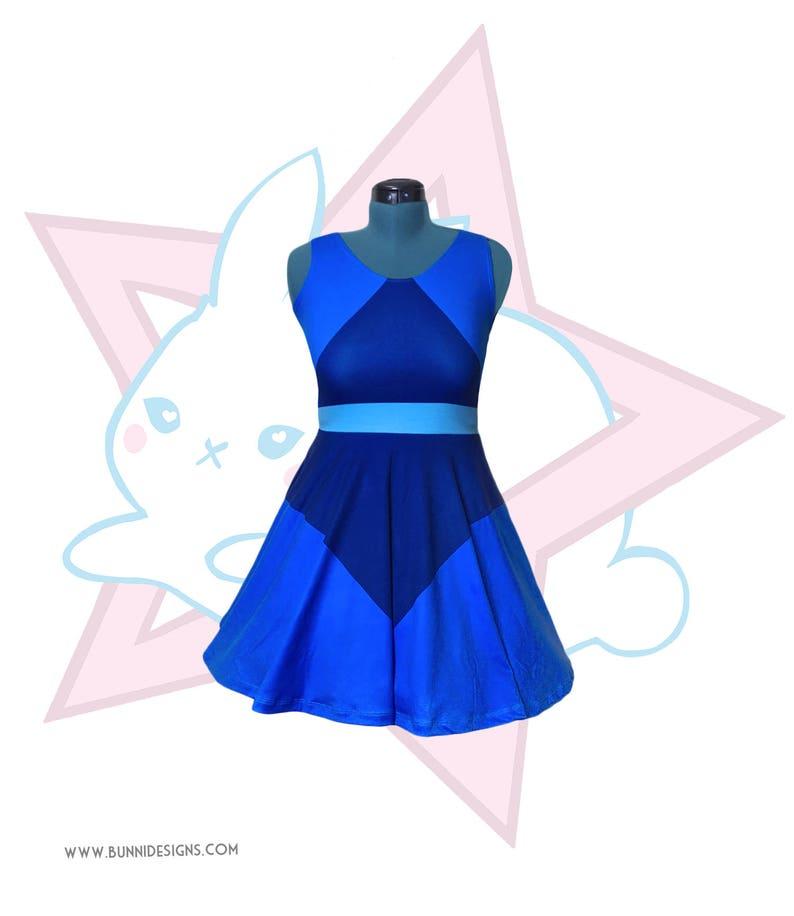 Lapis Lazuli  Steven Universe  Skater Dress image 0