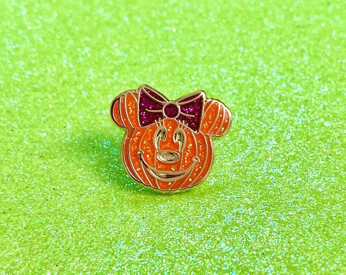 PUMPKIN Minnie Enamel Pin