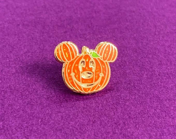 PUMPKIN Mr. Mouse Sparkle Enamel Pin