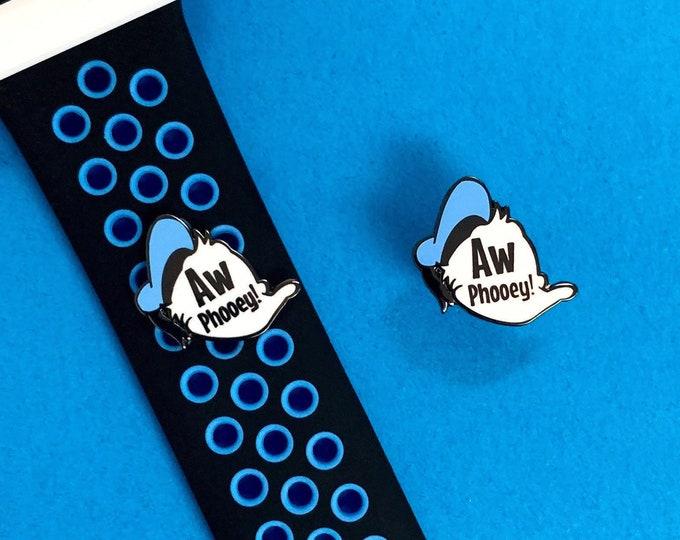 AW PHOOEY Enamel Pin & Wristband Candy