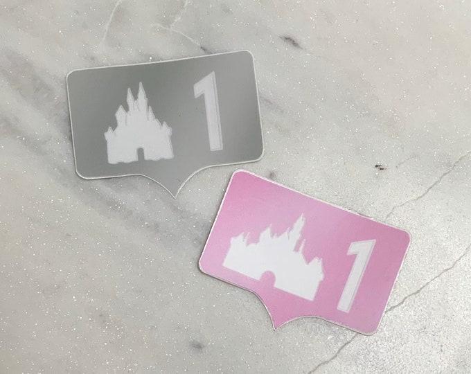 Castle GRAM Stickers