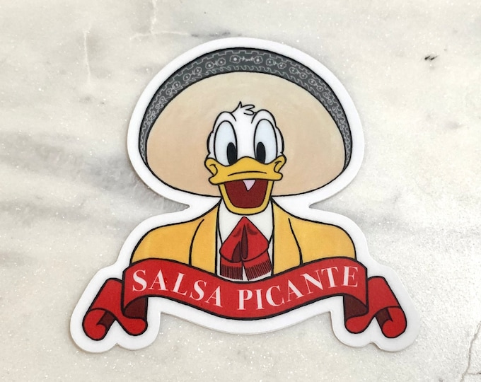 Ducks Salsa Picante Stickers
