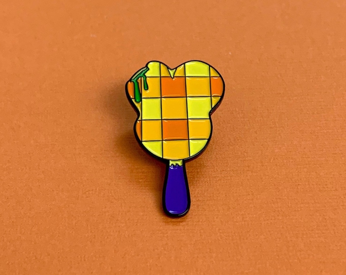 NOT SO SCARY Mr. Mouse Bar Enamel Pin